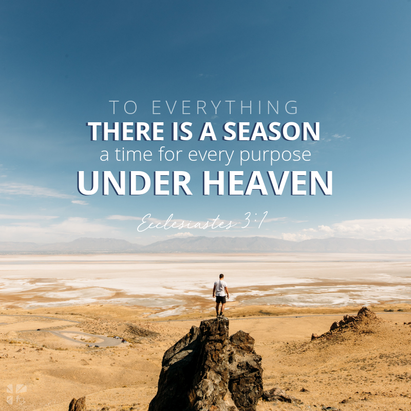 God lives in your season
