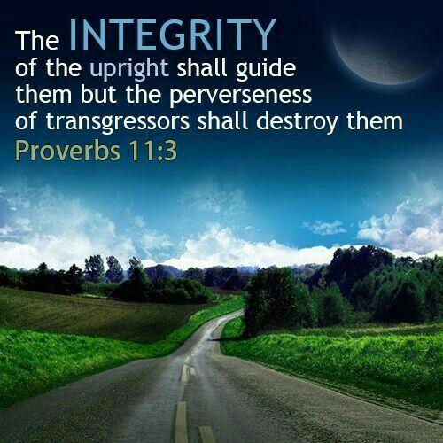 HONESTY/INTEGRITY